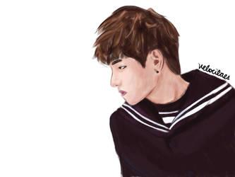 Kim Taehyung by lvlkatty