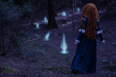 Brave - Following the ghost lights by goddessnaya