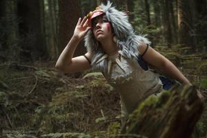 Princess Mononoke: Searching for the Tree Spirits by goddessnaya