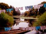Flag Pond by SailorGigi