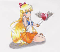 Copic - Sailor Venus by SailorGigi