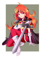 Commission - Slayers Lina by SailorGigi