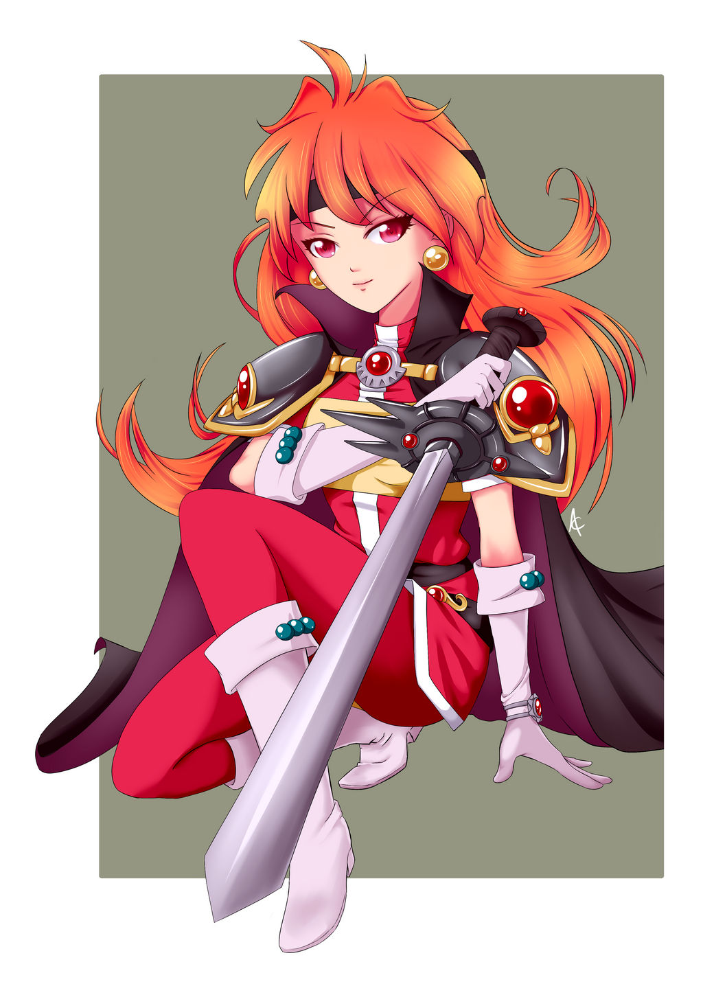 Commission - Slayers Lina by SailorGigi