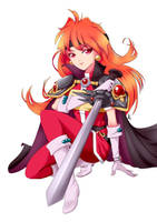 Slayers Lina no bg by SailorGigi
