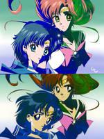 Mercury Jupiter Laserdisc Cover Crystal Redraw by SailorGigi