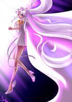 Sailor Cosmos Returns To Her Time by SailorGigi