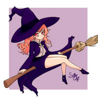 Cute Witch by SailorGigi