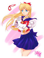Happy Birthday, Sailor V! by SailorGigi