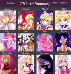 2015 Art Summary by SailorGigi