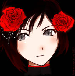 Red Like Roses by Raspberrychan3