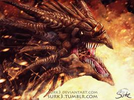 beak with teeth by Surk3