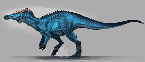 Commission - Baryonyx by Surk3
