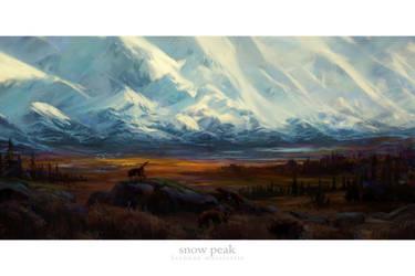 Snow Peak by BrennanPM