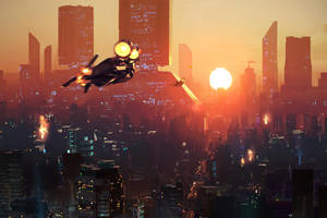Blade Runner Sunset by BrennanPM