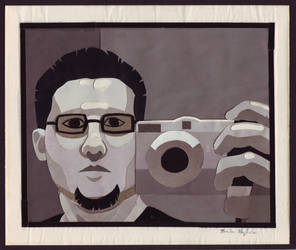 Magazine Bits - Self Portrait by Khadin