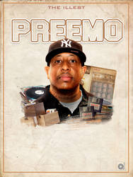 Dj Premier Poster by Anod26