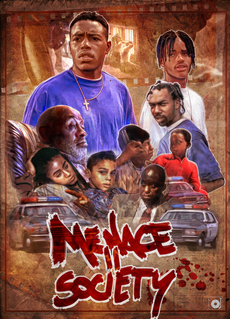 My Tribute Poster Menace II Society by Anod26