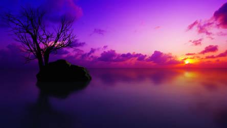 Maldivian Sunset_4K UHD by relhom