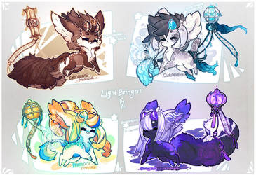 [Auction/OTA] Lightbringers. [CLOSED] by manaberry