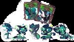 [Elnin] Breeding batch #014 by manaberry