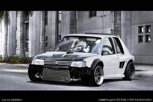 Peugeot 205 Drift machine by CptDesign