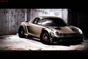 Toyota Mr2 Half Carbon version by CptDesign