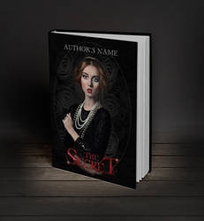 Premade book cover - My gothic lady by MihaelaJoeDesigns