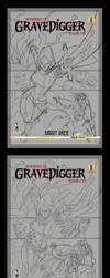 The Adventures of Gravedigger Cover Steps by GeorgeSellas