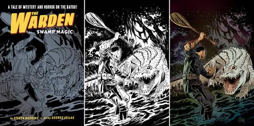 SwampMagic cover process by GeorgeSellas by GeorgeSellas