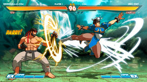 Street Fighter EXrd - FIGHT! by GeorgeSellas