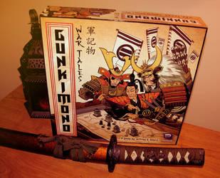 Gunkimono: War Tales (Board Game) by GeorgeSellas