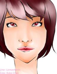 ~Just her~ by koko-manga
