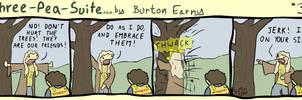 No. 34 - Tree Hugging by burtonearny