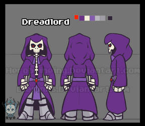 Dreadlord Model by TheHerobrineing