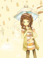 Evening Rain by Xaferis