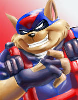 T-bone- SWAT Kats by deep-south-demon