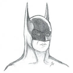 Batman (Pencil Sketch) by jonmarkiewitz