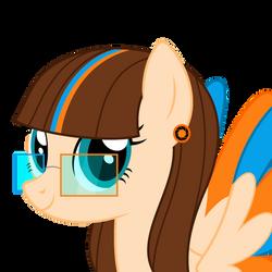[Commission] Pony Portal's portrait by Xalcer13