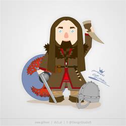 Viking Earl Huberaht by renllig