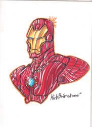 Iron Man by KirbBrimstone