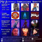 Commission Open!!! by KirbBrimstone