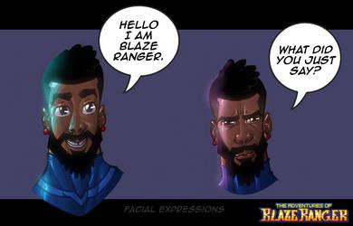 Hello I am Blaze Ranger by KirbBrimstone