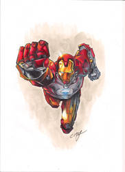 CopicIronman by Charlie-McClenaghan