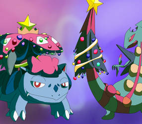 Dec Day 9-We Wish you a Mega Christmas by YingYangHeart