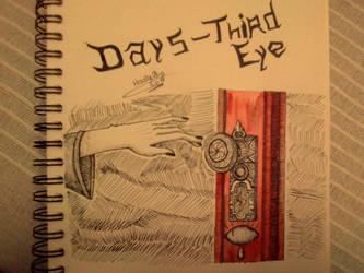 Inktober - Day 5 - Third Eye by SarahDealerEvans