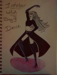 Inktober - Day 9 - Dance by SarahDealerEvans