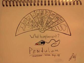 Inktober - Day 19 - Pendulum by SarahDealerEvans