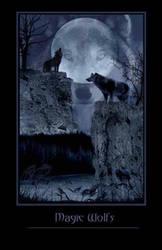 Magic WolFs by My-Black-WidoW
