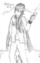 Bayonetta Genderbend by xianyu118