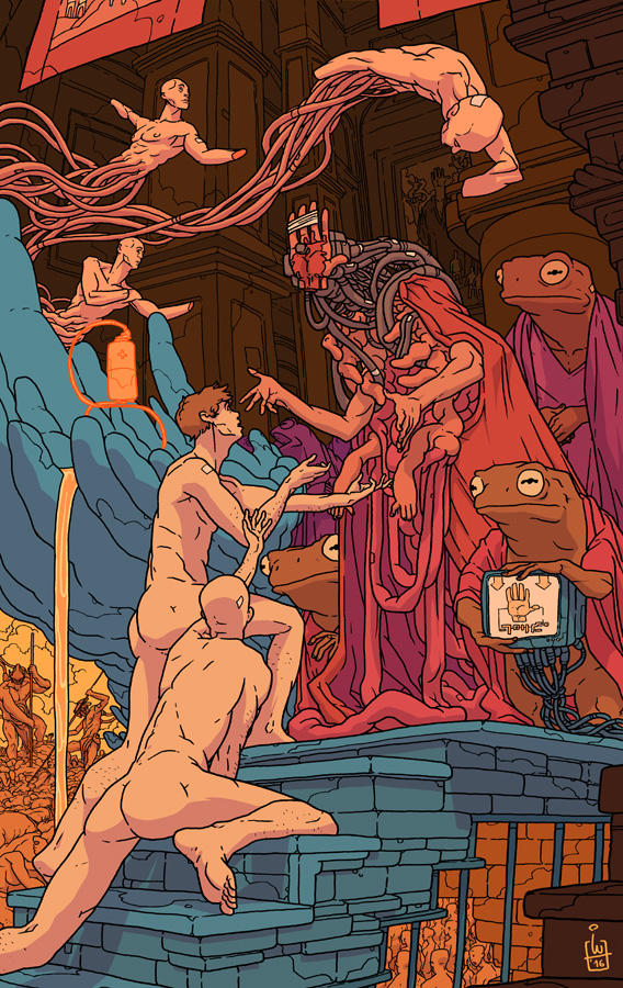 The Hand 01 - Last days of a dying world by IgorWolski